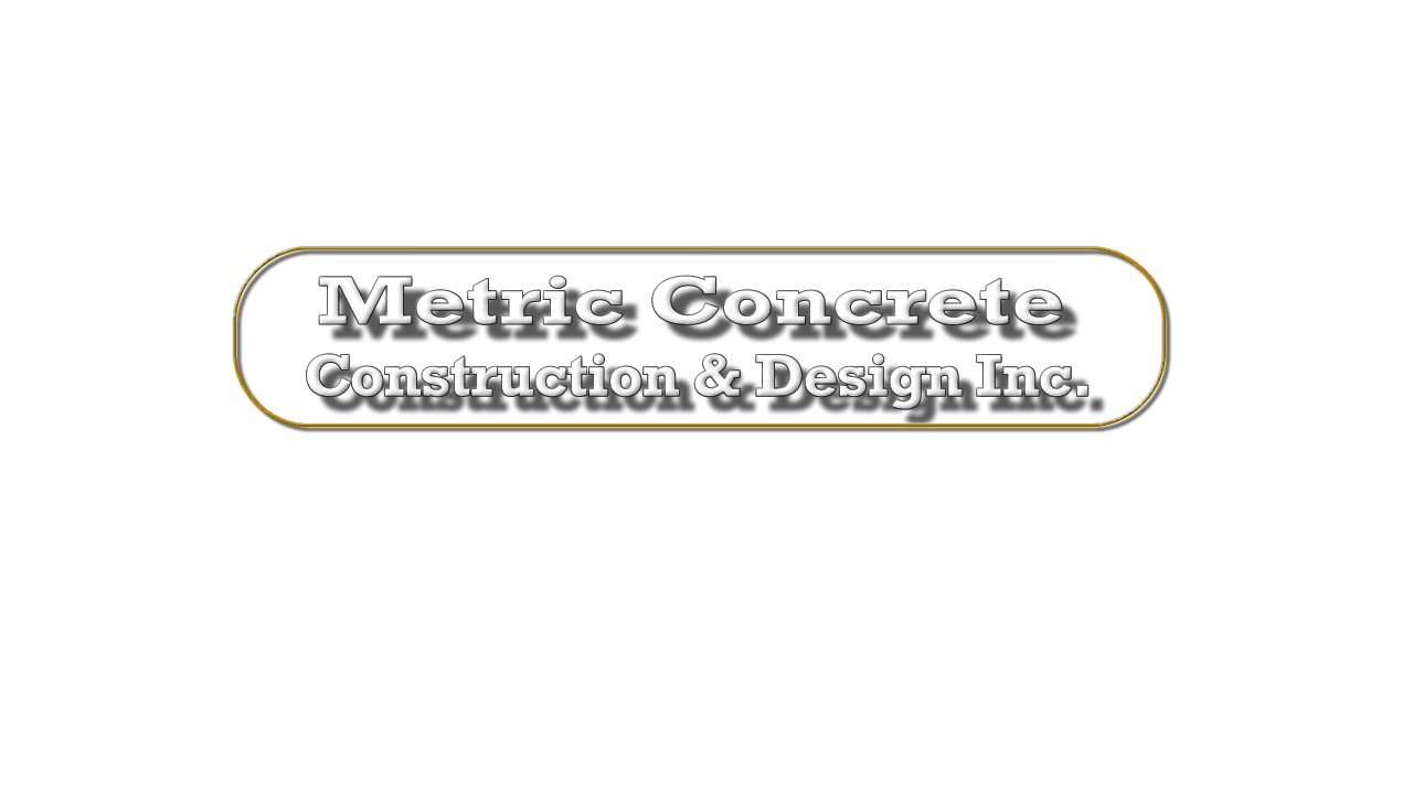 metric concrete construction and design