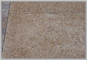 metric concrete concrete Exposed Aggregate