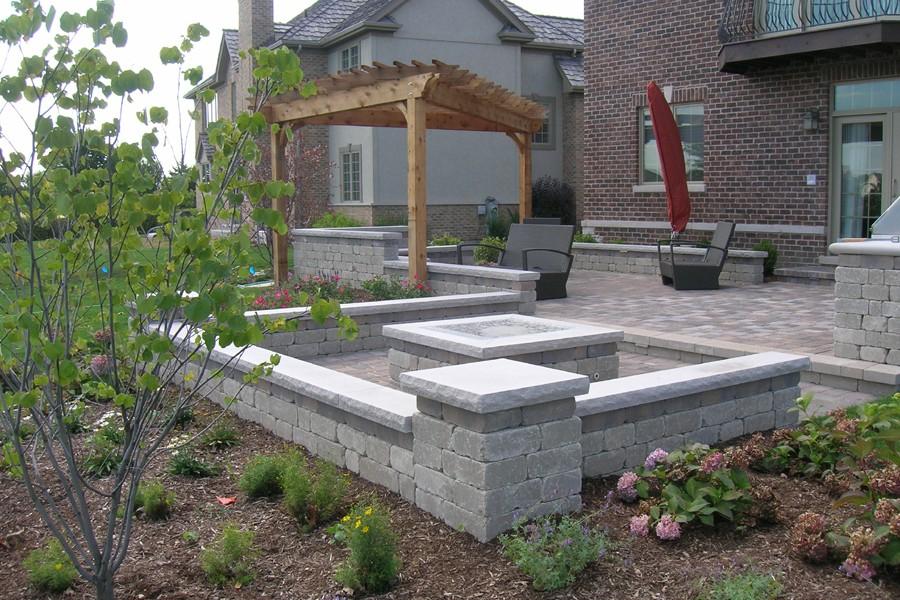 Metric Concrete   Stamped Concrete Patio Photo Gallery