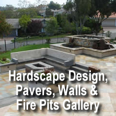 Hardscape Design Pavers Walls & fire pits gallery