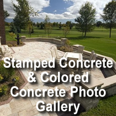Stamped Concrete & Colored Concrete Photo Gallery