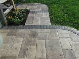 Metric Concrete Stamped Concrete Walkway Photo Gallery