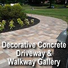 Decorative Concrete Driveway & Walkway Gallery