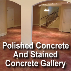 Polished Concrete And Stained Concrete Gallery